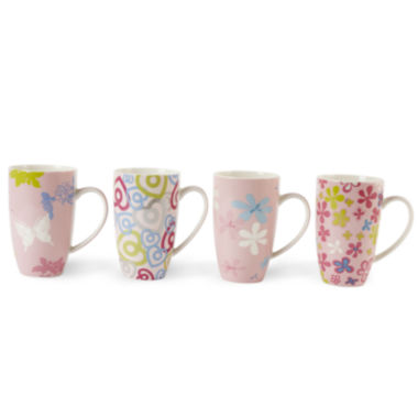 jcpenney.com | Maxwell and Williams™ Pink Paradise Set of 4 Mugs