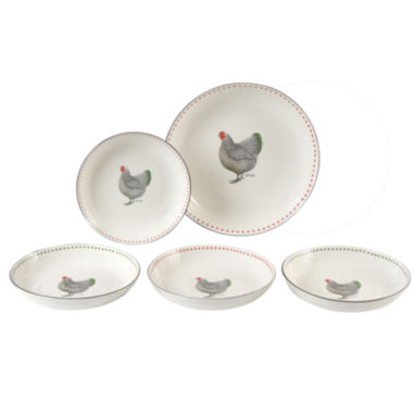 jcpenney.com | Maxwell and Williams™ Ancona 5-pc. Porcelain Pasta Bowl Set