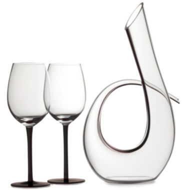 jcpenney.com | Maxwell and Williams™ Sensations 3-pc. Wine Decanter and Glass Set
