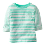 Carter's® Short-Sleeve Pocket Tee - Girls 5-6x
