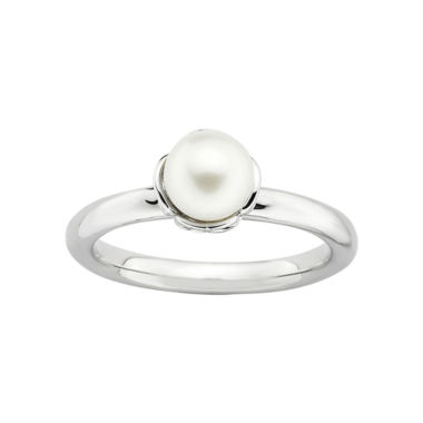 jcpenney.com | Personally Stackable Cultured Freshwater Pearl Ring