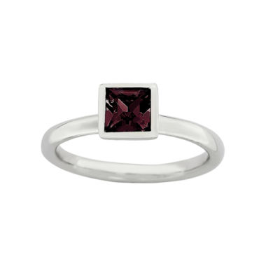 jcpenney.com | Personally Stackable Sterling Silver June Birthstone Crystal Ring