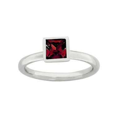 jcpenney.com | Personally Stackable Sterling Silver July Birthstone Crystal Ring