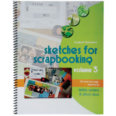 jcpenney.com | Scrapbook Generation-Sketches for Scrapbooking Volume 3