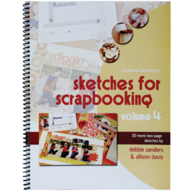 jcpenney.com | Scrapbook Generation-Sketches for Scrapbooking Volume 4
