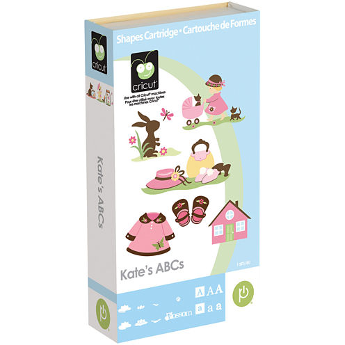Cricut® Shape Cartridge—Kate's ABC's