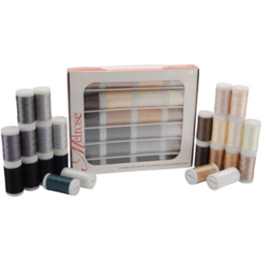 jcpenney.com | Melrose Trilobal 24-pk. Polyester Thread Assortment - Neutrals