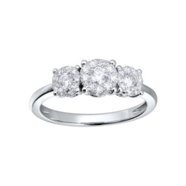 jcpenney.com | Brilliant Dream™ 1/2 CT. T.W. Diamond 3-Stone Engagement Ring