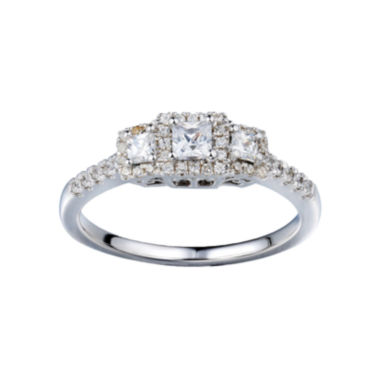jcpenney.com | Love Lives Forever™ 1/2 CT. T.W. Diamond Vintage-Look Engagement Ring