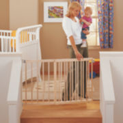 North States™ Supergate Wide Stairway Swing Gate
