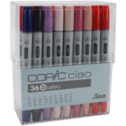 Copic Ciao 36-pc. Marker Set—Set D