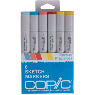 jcpenney.com | Copic 6-pk. Sketch Markers - Perfect Primaries