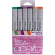Copic Sketch Markers - Secondary Tones