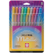 Gelly Roll Metallic Medium Point Pens – 10 Pack
