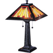 Dale Tiffany Mission Camelot Table Lamp