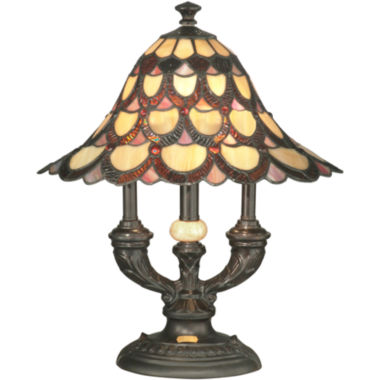 jcpenney.com | Dale Tiffany™ Peacock Table Lamp