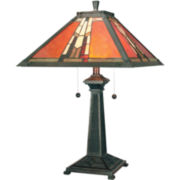 Dale Tiffany Monarch Mica Table Lamp