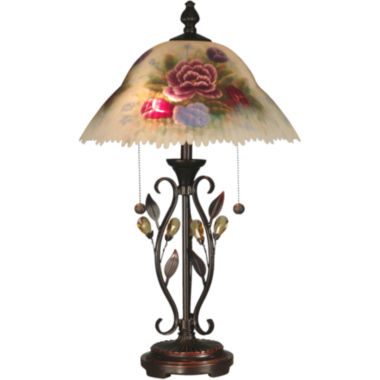 jcpenney.com | Dale Tiffany™ Roselaine Hand-Painted Table Lamp