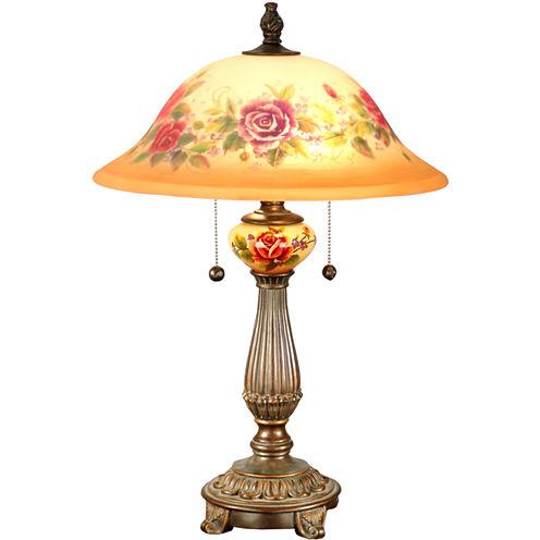 Dale Tiffany™ Brazilian Handpainted Table Lamp