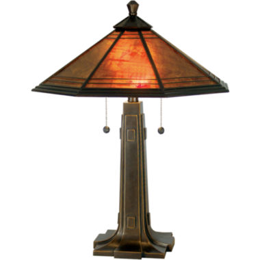 jcpenney.com | Dale Tiffany™ Camillo Mica Table Lamp