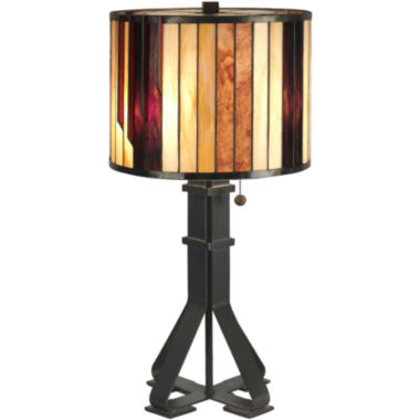 jcpenney.com | Dale Tiffany™ Geometric Table Lamp
