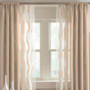 Studio™ Nolita Solid Rod-Pocket Curtain Panel