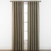 Studio™ Glacier Rod-Pocket/Back-Tab Curtain Panel