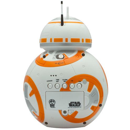 """Bulb Botz Star Wars® Episode 7 BB-8 7.5"""" Tall Digital Alarm Clock"""