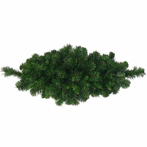 "32"" Unlit Rich Mixed Pine Artificial Christmas Swag"