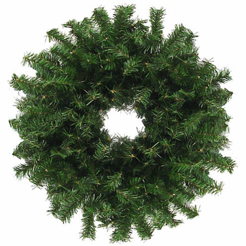 "30"" Unlit Canadian Pine Artificial Christmas Wreath"