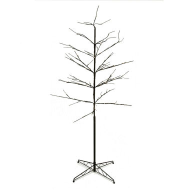 jcpenney.com | 6' LED Lighted Color Combo Christmas Twig Tree Outdoor Yard Art