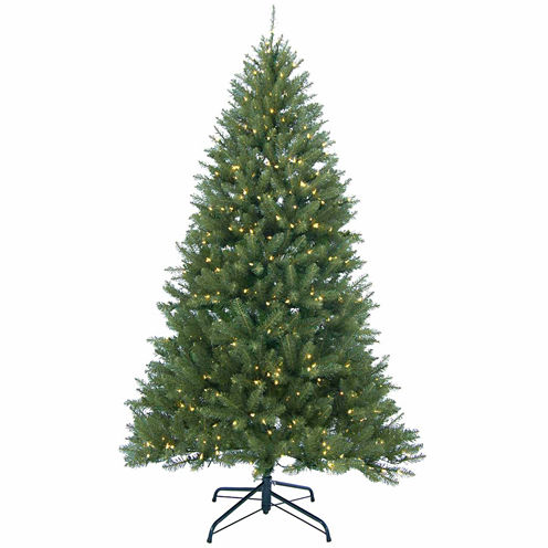 12' Pre-Lit Essex Pine Medium Artificial ChristmasTree with Clear Lights