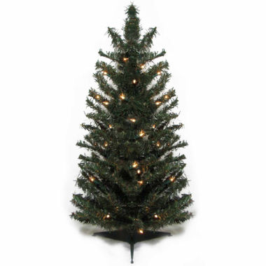 jcpenney.com | 3' Pre-Lit Canadian Pine Artificial Christmas Treewith Clear Lights