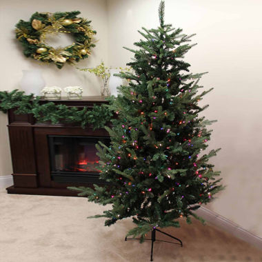 jcpenney.com | 9' Pre-Lit Grantwood Pine Artificial Christmas Tree with Multi-Color Lights