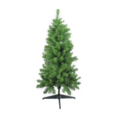 "jcpenney.com | 4' x 25"" Traditional Noble Fir Medium Artificial Christmas Tree - Unlit"""