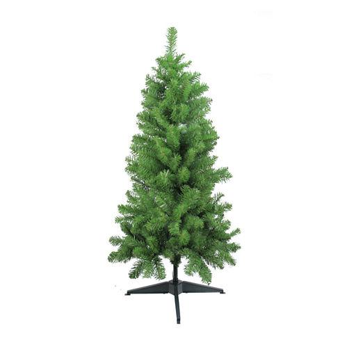 "4' x 25"" Traditional Noble Fir Medium Artificial Christmas Tree - Unlit"""