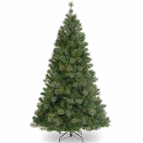 "7.5' x 42"" Atlanta Mixed Cashmere Pine Medium Artificial Christmas Tree - Unlit"""