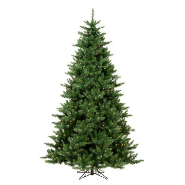 "jcpenney.com | 7.5' x 56"" Pre-Lit Northern Dunhill Fir Full Artificial Christmas Tree with Clear Lights"""