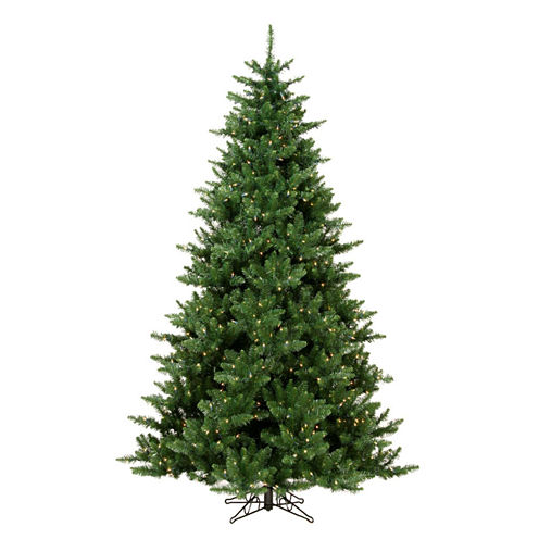 "7.5' x 56"" Pre-Lit Northern Dunhill Fir Full Artificial Christmas Tree with Clear Lights"""