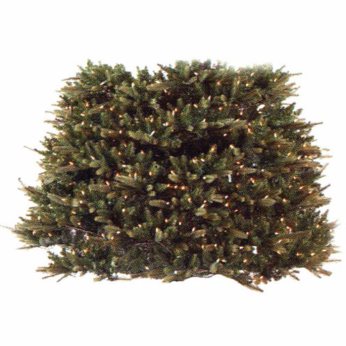 7.5' - 9' Pre-Lit Extend-A-Tree Artificial Christmas Tree Extension Piece with Clear Lights