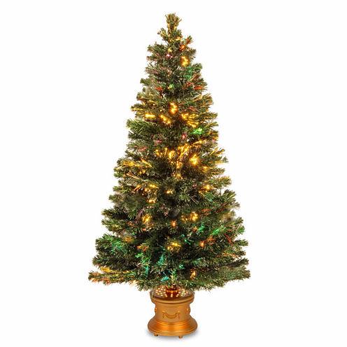 National Tree Co. 5 Foot Evergreen Firework Pre-Lit Christmas Tree