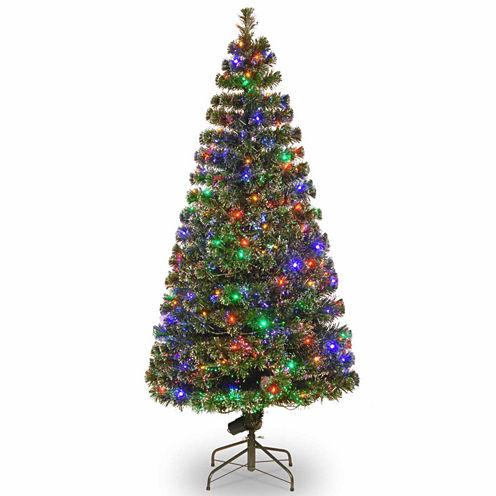 National Tree Co. 6 Foot Evergreen Pre-Lit Christmas Tree