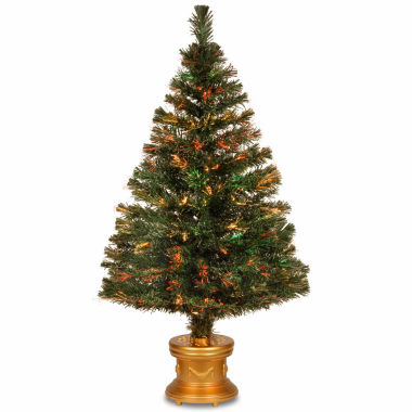 jcpenney.com | National Tree Co 4 Feet Evergreen Firework Pre-Lit Christmas Tree