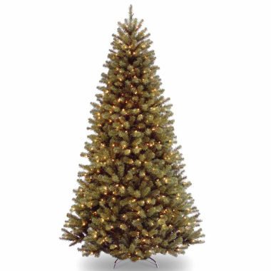 jcpenney.com | National Tree Co 7 1/2 Feet North Valley Spruce Hinged Pre-Lit Christmas Tree