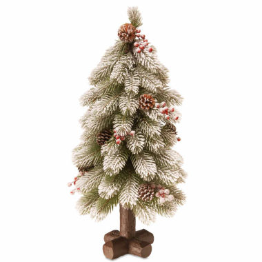 jcpenney.com | National Tree Co. 2 Feet Snowy Bayberry Spruce Christmas Tree