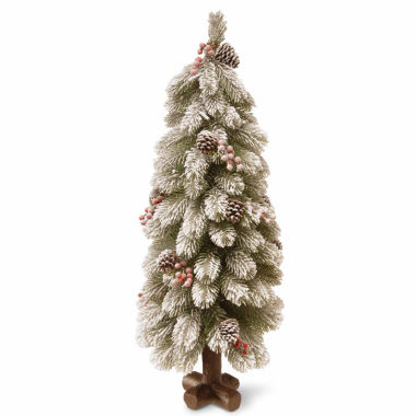 jcpenney.com | National Tree Co. 2 Foot Snowy Bayberry Spruce Christmas Tree