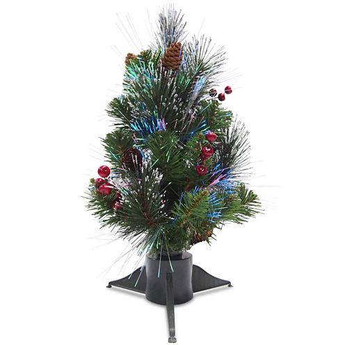 National Tree Co. Ice Crestwood Pre-Lit Christmas Tree