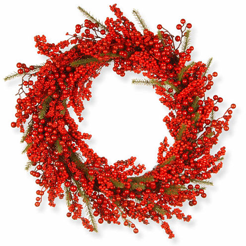 National Tree Co. Berries Indoor/Outdoor Christmas Wreath