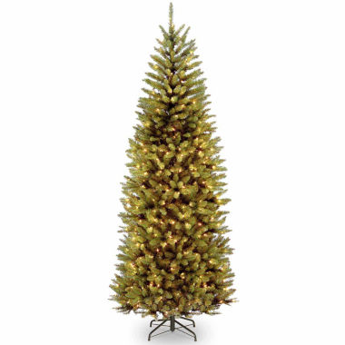 jcpenney.com | National Tree Co 7 1/2 Feet Kingswood Fir Slim Hinged Pre-Lit Christmas Tree