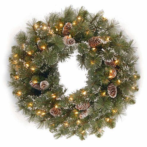 National Tree Co. Glittery Pine Indoor/Outdoor Christmas Wreath